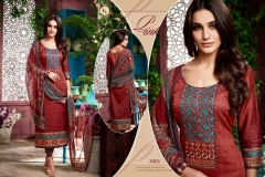 RAJDHANI VOL 3 BY KALA FASHION JAM SILK COTTON SELF EMBROIDERED SUITS WHOLESALER DELAER BEST RATE BY GOSIYA EXPORTS SURAT (10)