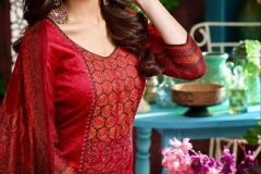 RAJDHANI VOL 3 BY KALA FASHION JAM SILK COTTON SELF EMBROIDERED SUITS WHOLESALER DELAER BEST RATE BY GOSIYA EXPORTS SURAT