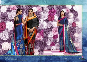 RAJTEX KQUEEN JAPAN CRAPE SAREES CATALOG WHOLSALER BEST RATE BY GOSIYA EXPORTS SURAT (12)