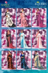 RAJTEX KQUEEN JAPAN CRAPE SAREES CATALOG WHOLSALER BEST RATE BY GOSIYA EXPORTS SURAT (18)