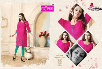 RAJVEE ANERI CATALOGUE LAWN COTTON CASUAL WEAR KURTI COLELCTION WHOLESALE BEST RATE BY GOSIYA EXPORT SURAT (3)
