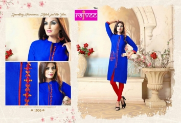 RAJVEE ANERI CATALOGUE LAWN COTTON CASUAL WEAR KURTI COLELCTION WHOLESALE BEST RATE BY GOSIYA EXPORT SURAT (6)