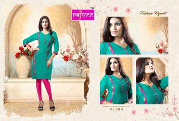 RAJVEE ANERI CATALOGUE LAWN COTTON CASUAL WEAR KURTI COLELCTION WHOLESALE BEST RATE BY GOSIYA EXPORT SURAT (8)