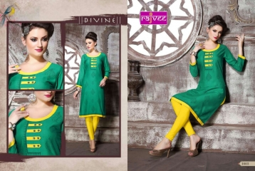 RAJVEE POSHAK CATALOGUE REYON KURTI CASUAL WEAR (3)