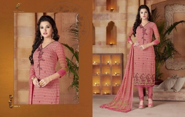 RAKHI FASHIOIN VOGUE CRUSH CATALOG VISCOSE GEORGETTE SELF (11)
