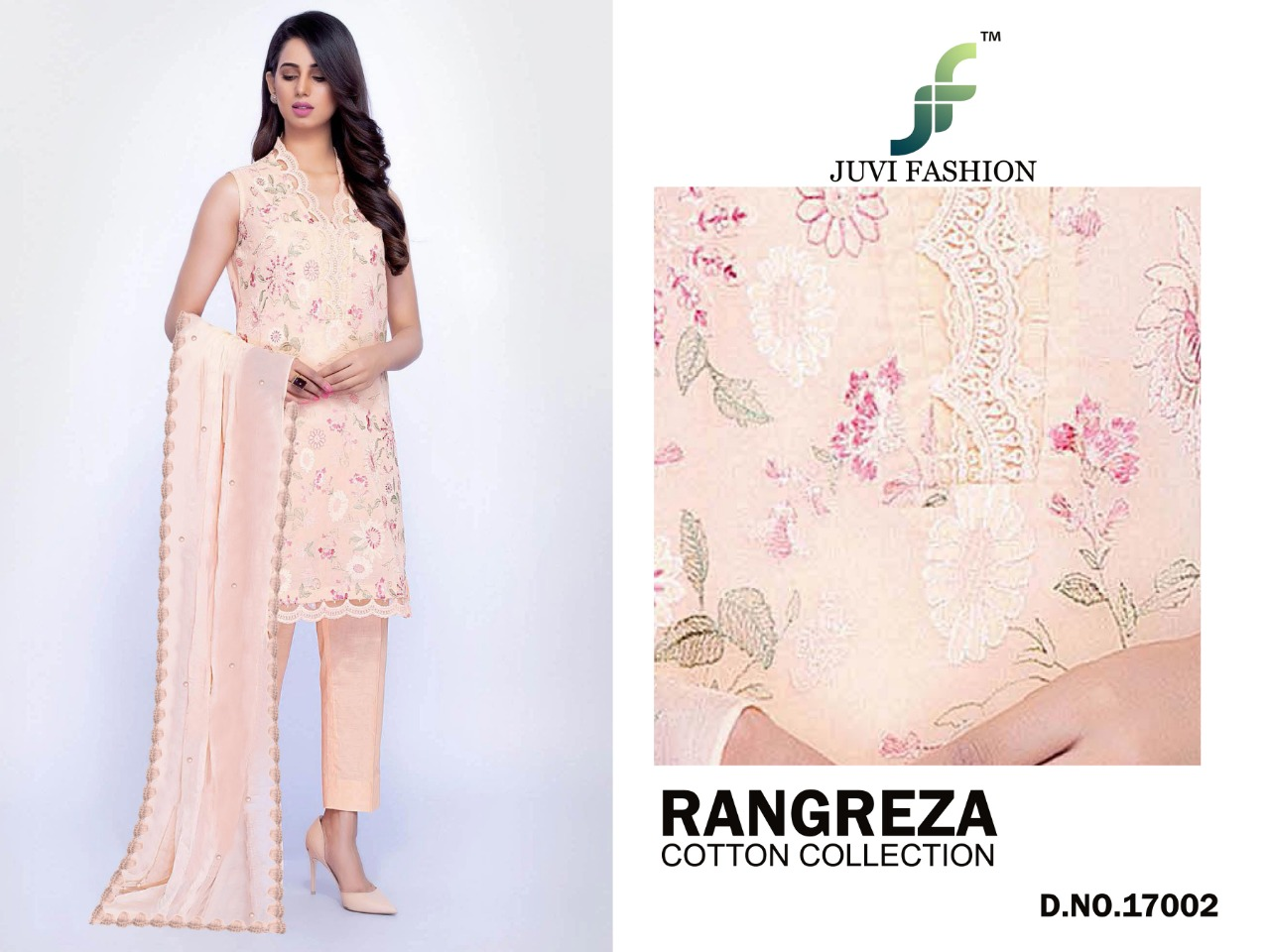 5f2851d9f9 Gosiya Exports » RANGREZA COTTON COLLECTION JUVI FASHION PURE COTTON ...