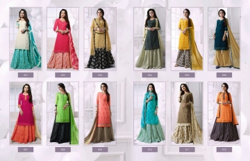 RANI FASHION RAGINI VOL 2 CATALOGUE GEORGETTE DESIGNER WEAR (12)