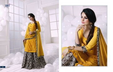 RANI FASHION RAGINI VOL 2 CATALOGUE GEORGETTE DESIGNER WEAR (4)