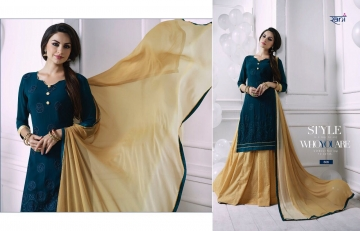RANI FASHION RAGINI VOL 2 CATALOGUE GEORGETTE DESIGNER WEAR (5)