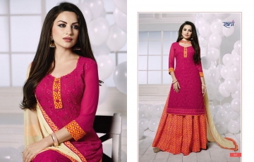 RANI FASHION RAGINI VOL 2 CATALOGUE GEORGETTE DESIGNER WEAR (6)