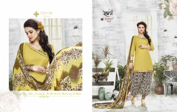 RANI SUNDAY PATIYALA VOL 18 HEAVY GLACE COTTON PARTY WEAR DRESS MATERIALS CATALOG WHOLESALE RATE SURAT BY G (1)