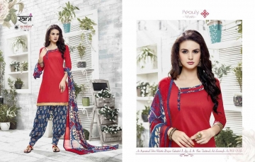 RANI SUNDAY PATIYALA VOL 18 HEAVY GLACE COTTON PARTY WEAR DRESS MATERIALS CATALOG WHOLESALE RATE SURAT BY G (5)