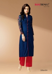 Rani Trendz city light a great collection of stylish Kurtis WHOLESALE DEALER BEST RATE BY GOSIYA EXPORTS SURAT (11)