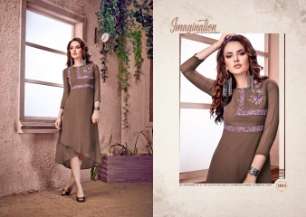 RAVI CREATION DOLLAR CATALOG GEORGETTE EMBROIDERY KURTI COLLECTION WHOLESALE SUPPLIER BEST RATE BY GOSIYA EXPORTS SURAT (2)