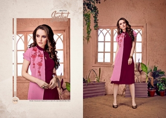 RAVI CREATION DOLLAR CATALOG GEORGETTE EMBROIDERY KURTI COLLECTION WHOLESALE SUPPLIER BEST RATE BY GOSIYA EXPORTS SURAT (4)