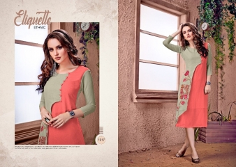 RAVI CREATION DOLLAR CATALOG GEORGETTE EMBROIDERY KURTI COLLECTION WHOLESALE SUPPLIER BEST RATE BY GOSIYA EXPORTS SURAT (5)