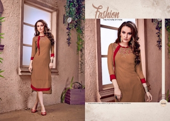 RAVI CREATION DOLLAR CATALOG GEORGETTE EMBROIDERY KURTI COLLECTION WHOLESALE SUPPLIER BEST RATE BY GOSIYA EXPORTS SURAT (6)