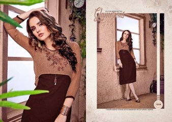 RAVI CREATION DOLLAR CATALOG GEORGETTE EMBROIDERY KURTI COLLECTION WHOLESALE SUPPLIER BEST RATE BY GOSIYA EXPORTS SURAT (7)