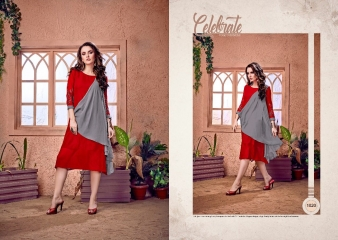 RAVI CREATION DOLLAR CATALOG GEORGETTE EMBROIDERY KURTI COLLECTION WHOLESALE SUPPLIER BEST RATE BY GOSIYA EXPORTS SURAT (8)