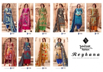 REYHANA BY TANISHK FASHION DESIGNER WHOLESALE PRINTED PASHMINA WINTER SPECIAL DRESS MATERIAL AT WHOLESALE BEST RATE BY GOSIYA EXPORTS SURAT (11)