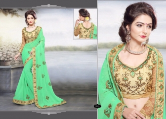 RIGHT ONE FIRE FANCY INDIAN SAREE WHOLESALER SURAT BEST RATE BY GOSIYA EXPORTS SURAT (11)
