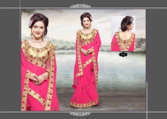 RIGHT ONE FIRE FANCY INDIAN SAREE WHOLESALER SURAT BEST RATE BY GOSIYA EXPORTS SURAT (2)