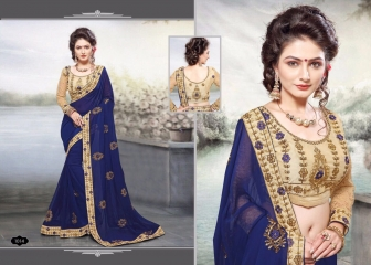 RIGHT ONE FIRE FANCY INDIAN SAREE WHOLESALER SURAT BEST RATE BY GOSIYA EXPORTS SURAT (4)