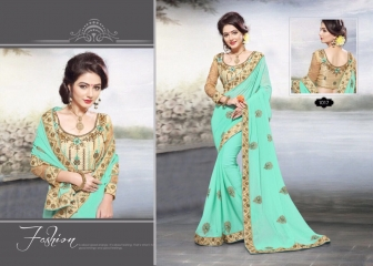 RIGHT ONE FIRE FANCY INDIAN SAREE WHOLESALER SURAT BEST RATE BY GOSIYA EXPORTS SURAT (5)