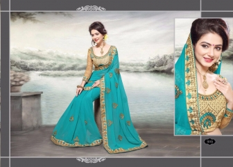 RIGHT ONE FIRE FANCY INDIAN SAREE WHOLESALER SURAT BEST RATE BY GOSIYA EXPORTS SURAT (6)