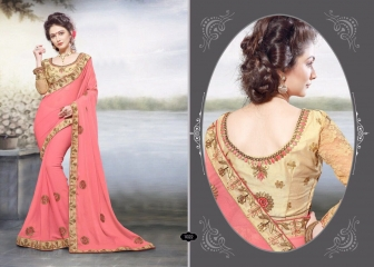 RIGHT ONE FIRE FANCY INDIAN SAREE WHOLESALER SURAT BEST RATE BY GOSIYA EXPORTS SURAT (7)