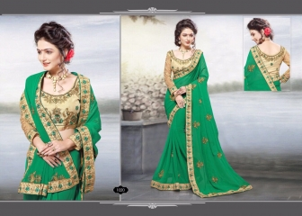 RIGHT ONE FIRE FANCY INDIAN SAREE WHOLESALER SURAT BEST RATE BY GOSIYA EXPORTS SURAT (8)