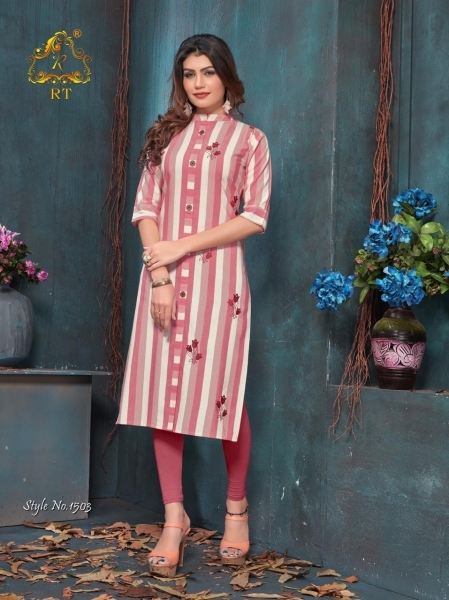RIJIYA TRENDS ANTRA HEAVY RAYON FABRIC DESIGNER KURTI WHOLESALE DEALER BEST RATE BY GOSIYA EXPORTS SURAT (2)