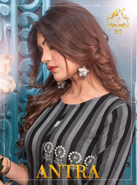 RIJIYA TRENDS ANTRA HEAVY RAYON FABRIC DESIGNER KURTI WHOLESALE DEALER BEST RATE BY GOSIYA EXPORTS SURAT (6)