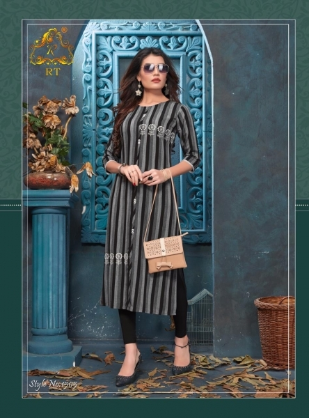 RIJIYA TRENDS ANTRA HEAVY RAYON FABRIC DESIGNER KURTI WHOLESALE DEALER BEST RATE BY GOSIYA EXPORTS SURAT (7)