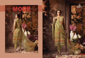 ROSE VOL 11 BY SAJJAN GEORGETTE PRINT WITH DESIGNER SAREES COLLECTION AT WHOLESALE E (3)