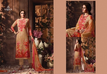 ROSE VOL 11 BY SAJJAN GEORGETTE PRINT WITH DESIGNER SAREES COLLECTION AT WHOLESALE E (5)
