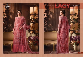 ROSE VOL 11 BY SAJJAN GEORGETTE PRINT WITH DESIGNER SAREES COLLECTION AT WHOLESALE E (7)