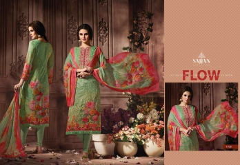 ROSE VOL 11 BY SAJJAN GEORGETTE PRINT WITH DESIGNER SAREES COLLECTION AT WHOLESALE E (9)