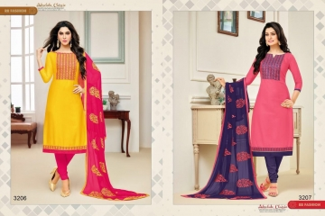 RR FASHION BY DOLLY VOL 19 CATALOG COTTON EMBROIDERED SALWAR KAMEEZ WHOLESALE SELLER BEST RATE BY GOSIYA EXPORTS SURAT (3)