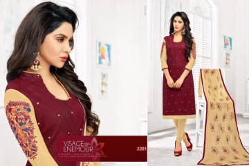 RR FASHION TEMPTATION EMBROIDERED SALWAR SUIT BUY ONLINE AT BEST RATE BY OSIYA EXPORTS SURAT (6)