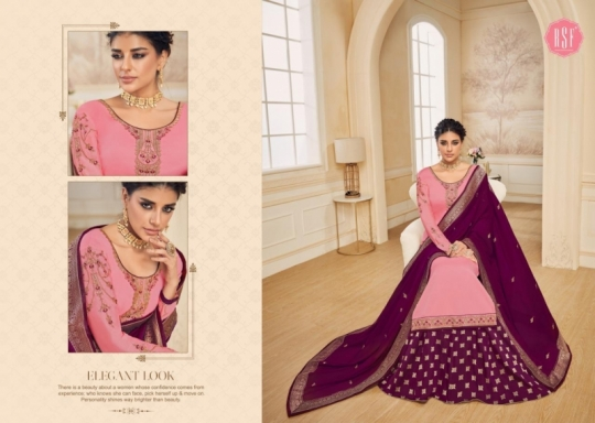 RSF FASHION PRESENTS SHAHINA VOL 2 GEORGETTE FABRIC HEAVY WORK SALWAR SUIT WHOLESALE DEALER BEST RATE BY GOSIYA EXPORTS SURAT (1)