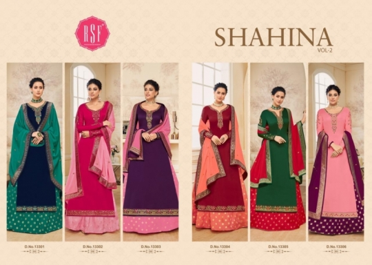 RSF FASHION PRESENTS SHAHINA VOL 2 GEORGETTE FABRIC HEAVY WORK SALWAR SUIT WHOLESALE DEALER BEST RATE BY GOSIYA EXPORTS SURAT (10)