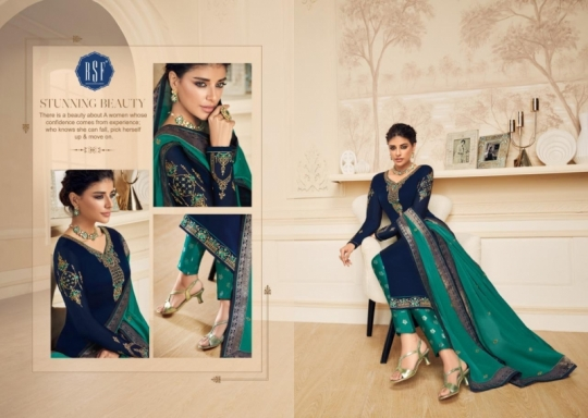 RSF FASHION PRESENTS SHAHINA VOL 2 GEORGETTE FABRIC HEAVY WORK SALWAR SUIT WHOLESALE DEALER BEST RATE BY GOSIYA EXPORTS SURAT (11)