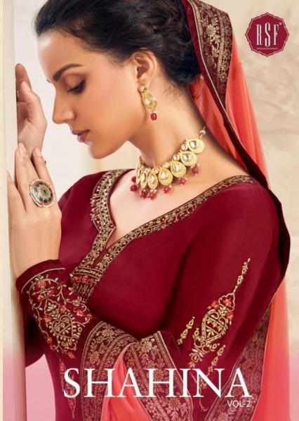 RSF FASHION PRESENTS SHAHINA VOL 2 GEORGETTE FABRIC HEAVY WORK SALWAR SUIT WHOLESALE DEALER BEST RATE BY GOSIYA EXPORTS SURAT (12)