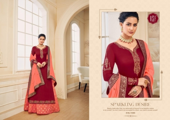 RSF FASHION PRESENTS SHAHINA VOL 2 GEORGETTE FABRIC HEAVY WORK SALWAR SUIT WHOLESALE DEALER BEST RATE BY GOSIYA EXPORTS SURAT (3)