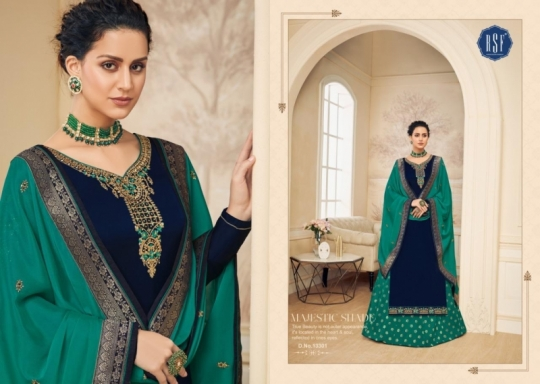 RSF FASHION PRESENTS SHAHINA VOL 2 GEORGETTE FABRIC HEAVY WORK SALWAR SUIT WHOLESALE DEALER BEST RATE BY GOSIYA EXPORTS SURAT (5)