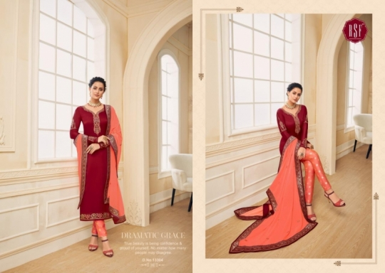 RSF FASHION PRESENTS SHAHINA VOL 2 GEORGETTE FABRIC HEAVY WORK SALWAR SUIT WHOLESALE DEALER BEST RATE BY GOSIYA EXPORTS SURAT (7)