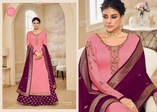 RSF FASHION PRESENTS SHAHINA VOL 2 GEORGETTE FABRIC HEAVY WORK SALWAR SUIT WHOLESALE DEALER BEST RATE BY GOSIYA EXPORTS SURAT (9)