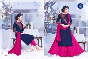 RSF SAREEN FESTIVAL SPECIAL DRESS WHOLESALE BEST RATE BY GOSIYA EXPORT SURAT (1)