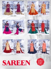 RSF SAREEN FESTIVAL SPECIAL DRESS WHOLESALE BEST RATE BY GOSIYA EXPORT SURAT (10)